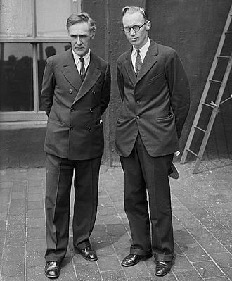 John Randolph Neal Jr. - Neal (left) with John T. Scopes