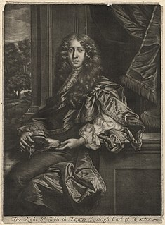 John Cecil, 5th Earl of Exeter English Earl