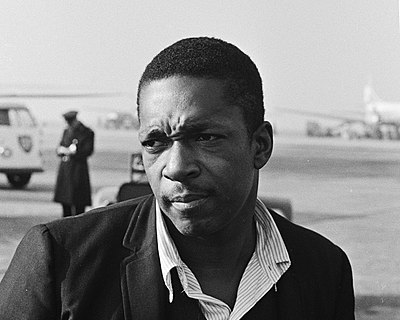 Picture of a band or musician: John Coltrane