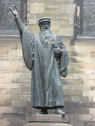 Church of Scotland - John Knox, who in 1559 returned from ministering in Geneva to lead the Reformation in Scotland.