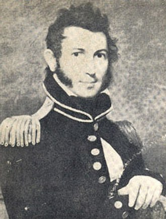 Action off Charles Island - John M. Gamble