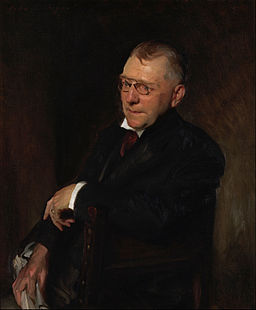 John Singer Sargent - Portrait of James Whitcomb Riley - Google Art Project