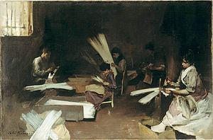 John Singer Sargent - Venetian Glass Workers