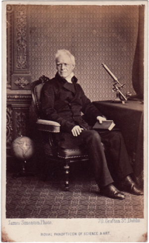Thomas Romney Robinson - Robinson in the 1850s by James Simonton
