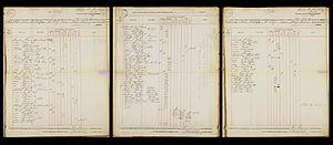 John Wickliffe (ship) - Complete passenger list of the John Wickcliffe