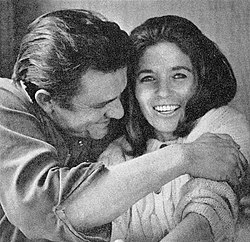 June Carter con Johnny Cash nel 1969