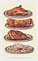 Joints- Roast Haunch of Mutton, Roast Saddle of Lamb, Roast Leg of Mutton, and Boiled Neck of Mutton with Caper Sauce from Mrs. Beeton& -39;s Book of Household Management. Digitally enhanced from our own 1923 edition.jpg