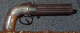 Death of Joseph Smith - Smuggled gun used by Smith to shoot Wills, Voras, and Gallaher