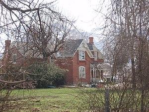 National Register of Historic Places listings in Davis County, Utah - Image: Joseph Adams House Layton Utah