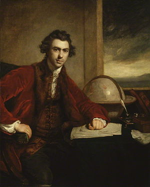 Joseph Banks - Sir Joseph Banks, as painted by Sir Joshua Reynolds in 1773