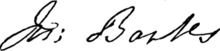 Joseph Banks signature.png