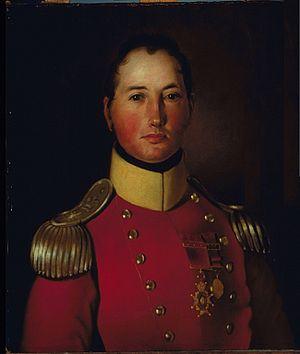 Joseph Wanton Morrison - Image: Joseph Wanton Morrison britischer General