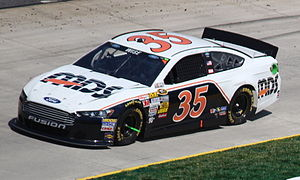Front Row Motorsports - The No. 35 MDS Ford driven by Josh Wise at Martinsville in 2013.