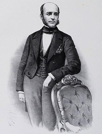 José Paranhos, Viscount of Rio Branco - José Paranhos around the age of 39, c. 1858