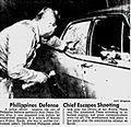 Juan Ponce Enrile's Bullet-riddled car.jpg