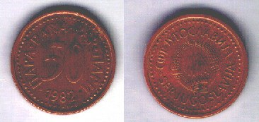 Jugoslavia 50 para