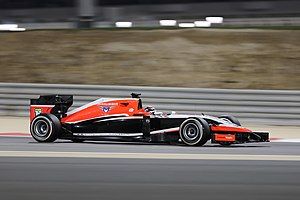 Marussia MR03 - Image: Jules Bianchi Bahreïn 2014