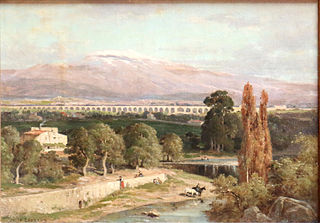 Carpentras Aqueduct and Mont Ventoux