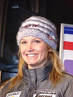 Julia Mancuso American alpine skier