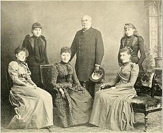 Julian Pauncefote, 1st Baron Pauncefote - Julian Pauncefote, 1st Baron Pauncefote, wife, Selina Cubitt, and daughters
