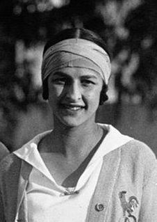 Julie Vlasto French tennis player