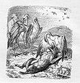 Julius Schnorr, Zeichnung, Reinecke Fuchs, Gesang 10, nach W. v. Kaulbach, D2104-10.jpg