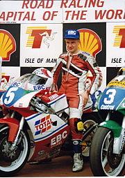 Brian Reid at the Isle of Man TT in 1993