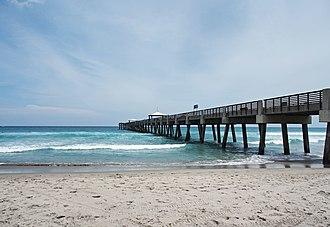 Juno Beach, Florida - Image: Juno Beach Florida Pier