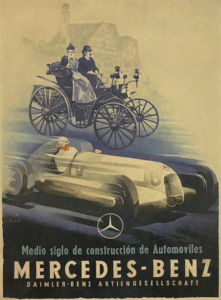 File jupp wiertz mercedes benz poster wikimedia for Mercedes benz poster