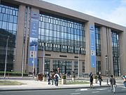 The Justus Lipsius building, the headquarters of the Council in Brussels