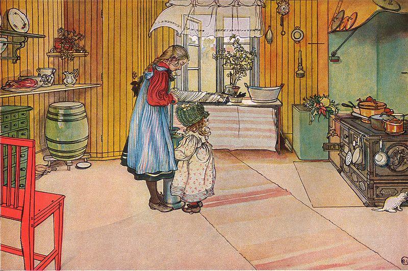 File:Köket av Carl Larsson 1898.jpg