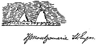 K2 - Montgomerie's original sketch in which he applied the notation K2