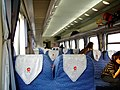 K45次列车,YZ25G硬座车车厢内部.jpg