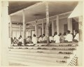 KITLV - 3609 - Lambert & Co., G.R. - Singapore - Moslems praying in a mosque in Johor - circa 1900.tif
