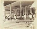 KITLV - 3609 - Lambert & Co., G.R. - Singapore - Moslems praying in a mosque in Johor - circa 1900.tif