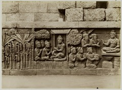 KITLV 28009 - Kassian Céphas - Relief of the hidden base of Borobudur - 1890-1891.tif