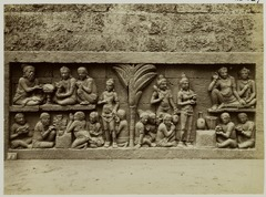 KITLV 28037 - Kassian Céphas - Relief of the hidden base of Borobudur - 1890-1891.tif
