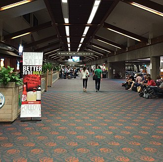 Kahului Airport - Overseas concourse at Kahului Airport