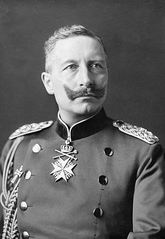 German Emperor - Last in office Wilhelm II 15 June 1888 – 9 November 1918