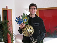 Kaká received 2008 Samba Gold in Milanello