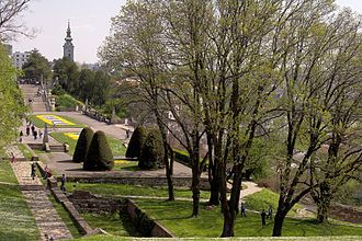 Kalemegdan Park with Great Staircase Kalemegdan park 1.jpg