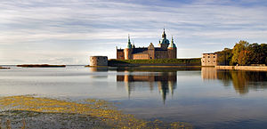 Götaland - Kalmar Castle - View from the North-Eastern side