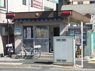 Kōban - Kōban in Kameari, Katsushika, Tokyo – the model for the kōban in the manga Kochira Katsushika-ku Kameari Kōen-mae Hashutsujo