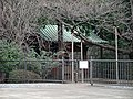 Kaneiji Jokenin Mausoleum Basin Building.JPG