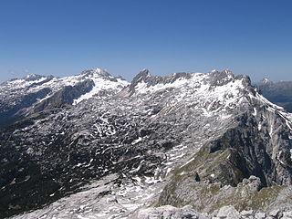 Kanin Mountains Mountain on the border of Italy and Slovenia