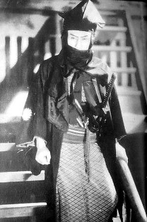 Kanjūrō Arashi - Kanjūrō Arashi as Kurama Tengu