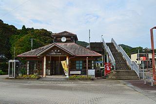 Kannoura Station Railway station in Tōyō, Kōchi Prefecture, Japan