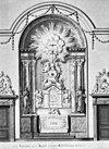 kapel ontwerp tekening detail van tekening van laatste altaar ontwerp - amsterdam - 20014548 - rce
