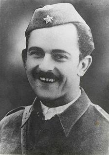 Karel Destovnik Slovenian poet, translator, resistance fighter, and Yugoslav peoples hero