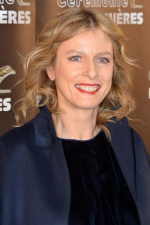 20th Lumières Awards - Karin Viard, Best Actress winner.